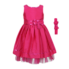 Buy Sequin Taffeta Dress & Headband